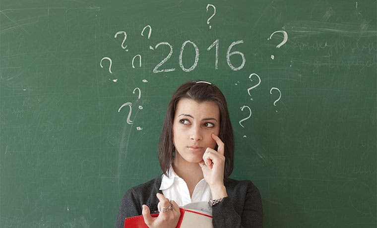 ¿Continuarán divergencias de 2015 el próximo año?