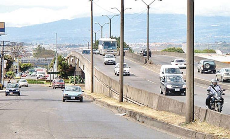Puente Juan Pablo II sentido Alajuela – San José estará cerrado el fin de semana