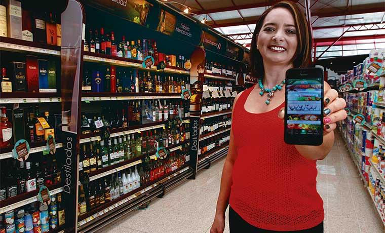 Oportunidad de crecimiento para supermercados en línea