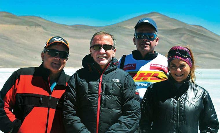 Warner Rojas apunta a otro de los volcanes más altos del mundo