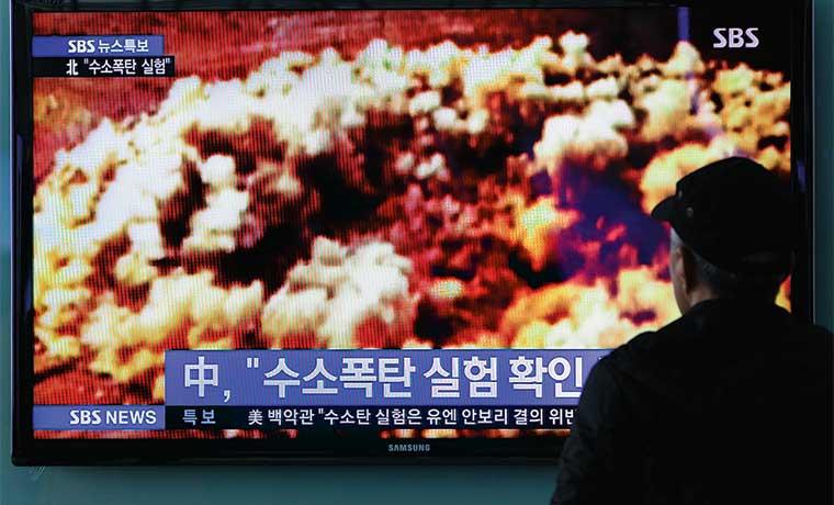 Corea del Norte probó con éxito primera bomba de hidrógeno