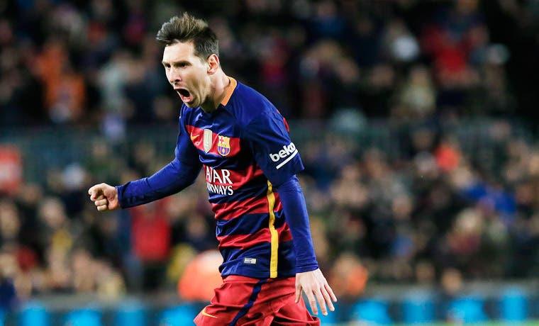 Messi impulsa al Barcelona en Copa del Rey