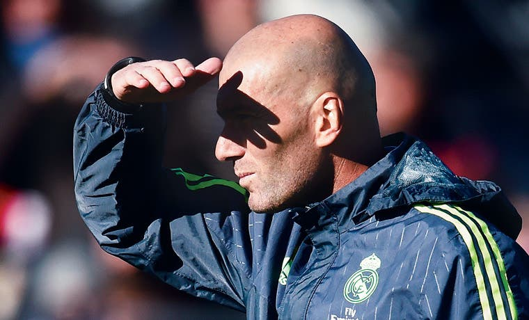Día cero para Zidane