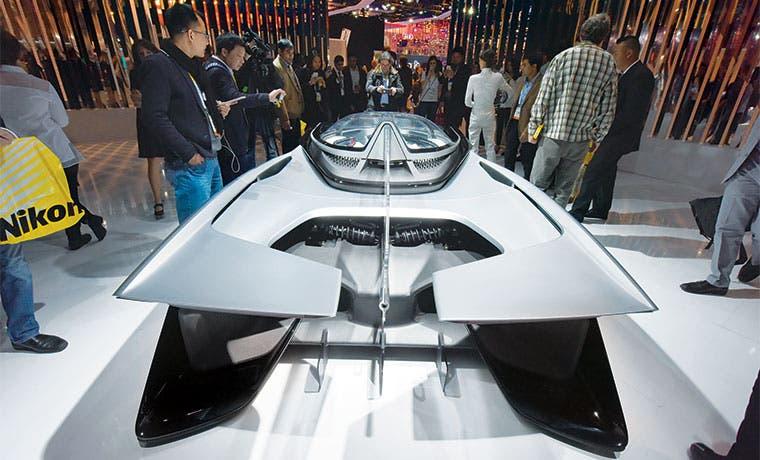 Drones y carros inteligentes deslumbran en el CES