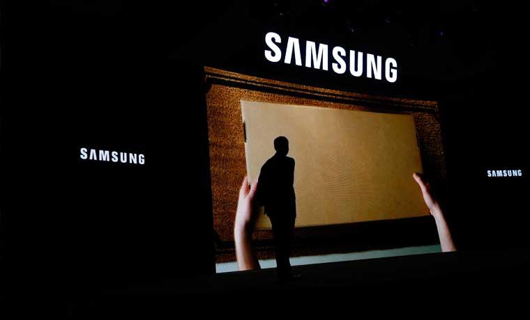 Error de cálculo de ganancias de Samsung revela débil demanda