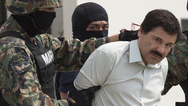 Detienen al Chapo Guzmán hoy en México
