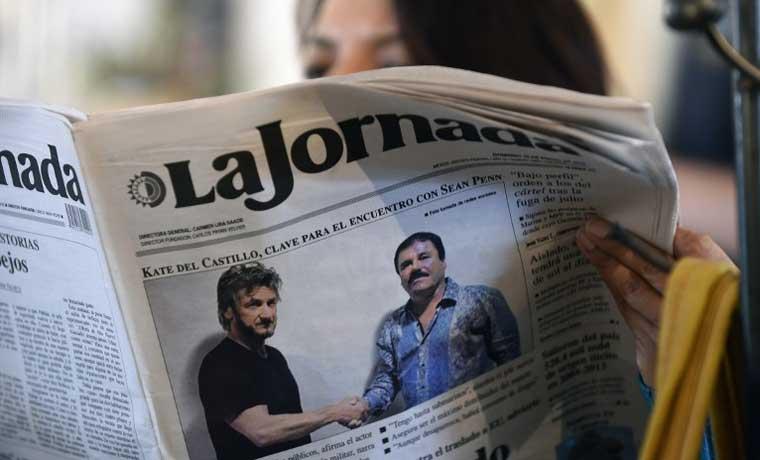 Entrevista de Sean Penn a 'El Chapo' daña a presidente de México