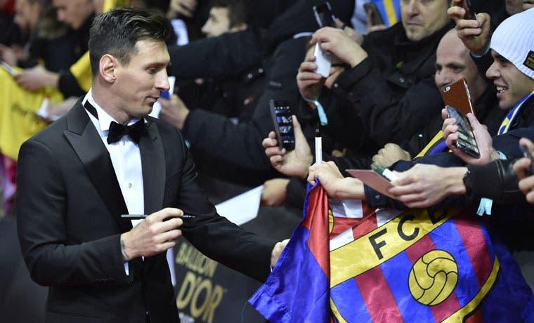 Messi conquista su quinto Balón de Oro
