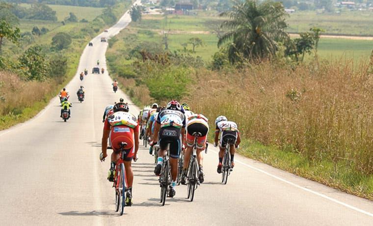 Chavarría mantiene ritmo en Vuelta a Táchira