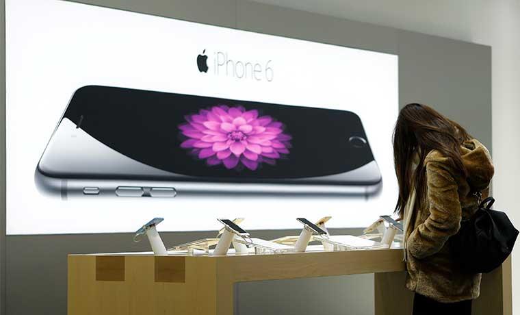 Probable impulso chino al iPhone haría avanzar a Apple