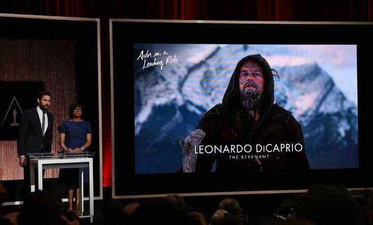 'Revenant' de Leonardo DiCaprio lidera las nominaciones al Oscar