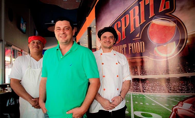 Spritz reúne lo mejor de un bar y un restaurante