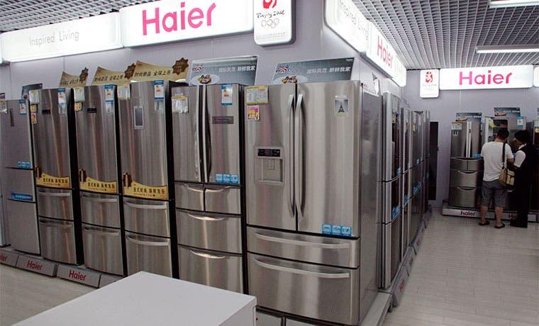 Haier de China comprará unidad de electrodomésticos a GE