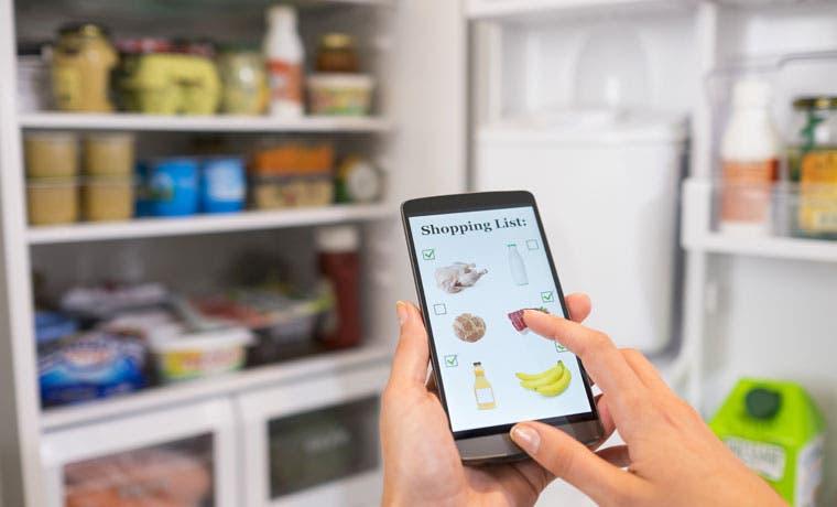 Aplicación permitirá hacer compras en línea desde la refrigeradora