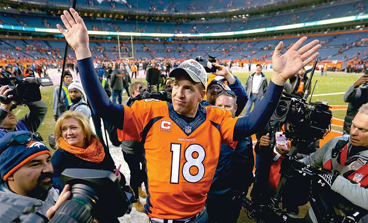 ¡Broncos al Super Bowl 50!