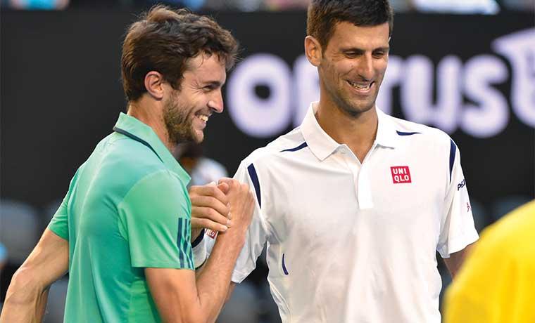 Djokovic fatal y ganó
