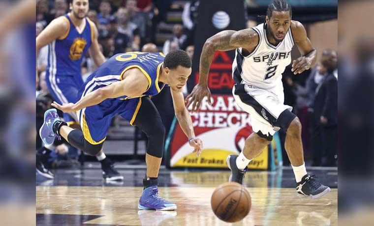 Warriors – Spurs: duelo de titanes