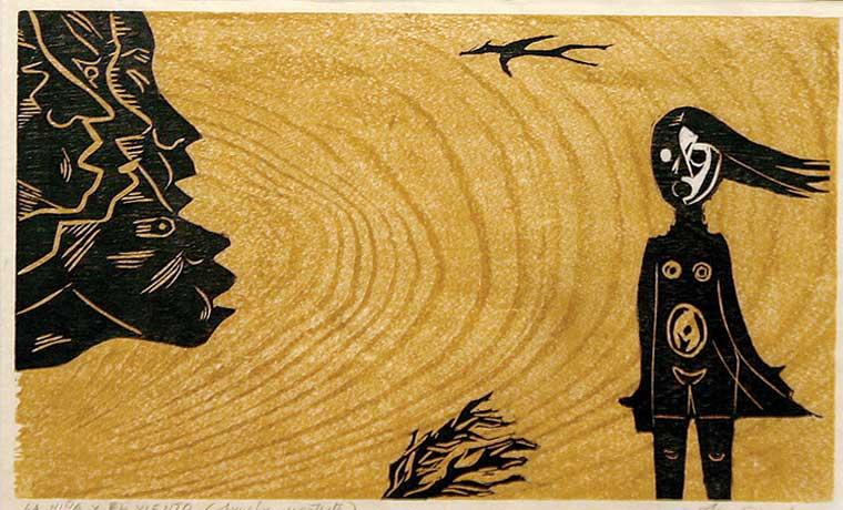 Obras de Amighetti se exhiben en La Sabana