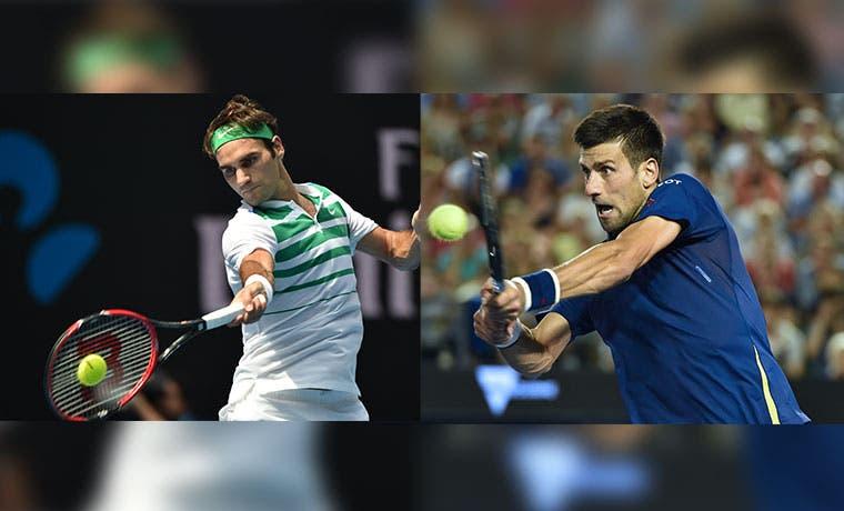 Djokovic y Federer, semifinal de lujo