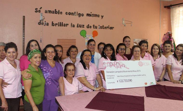 Instituciones de atención de cáncer de mama reciben donación