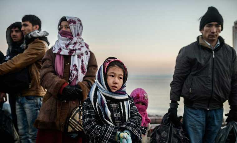Europa recibirá otro millón de refugiados este año, según la ONU