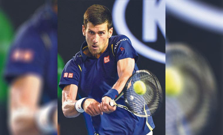 Novak repleto de gloria