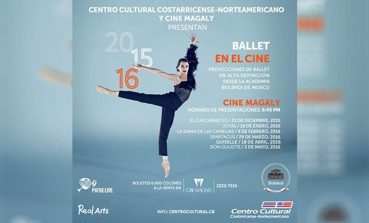 Ballet de Rusia llega al cine Magaly
