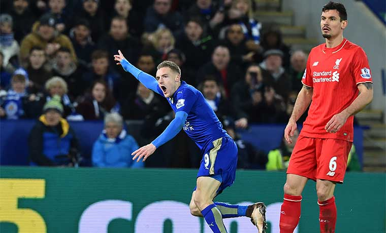 Leicester City, sorprendente líder