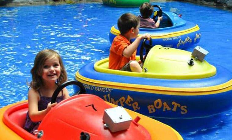 Atracciones acuáticas para niños gratis este fin de semana