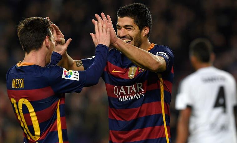 Barça destrozó al Valencia