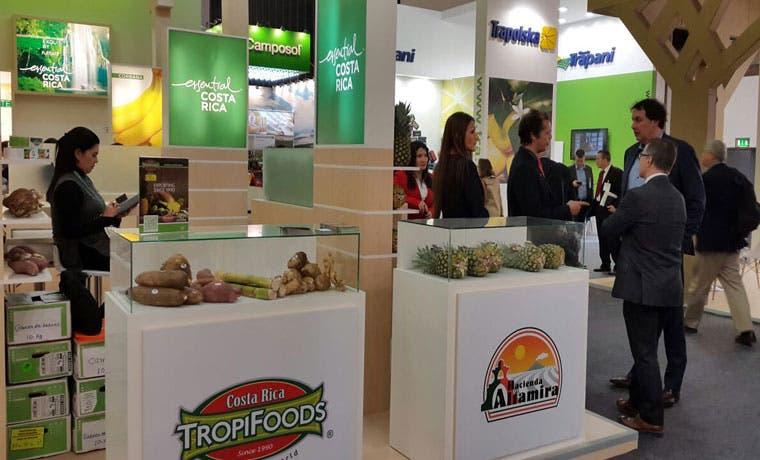 15 empresas costarricenses exponen productos agrícolas en Alemania
