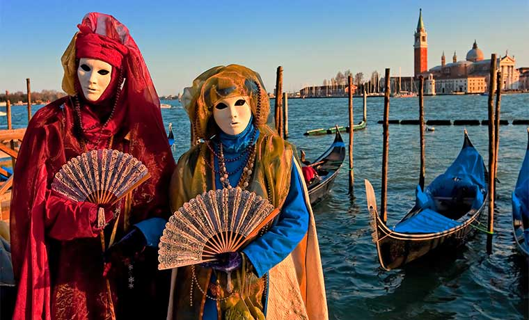 Disfrute una cena al estilo de Venecia