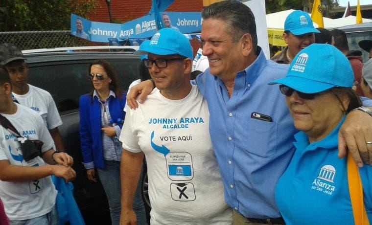 """Johnny Araya: """"Los votantes no me darán la espalda porque me fui a otro partido"""""""