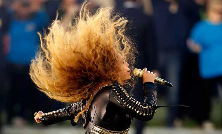 Beyoncé arrasó en el Super Bowl