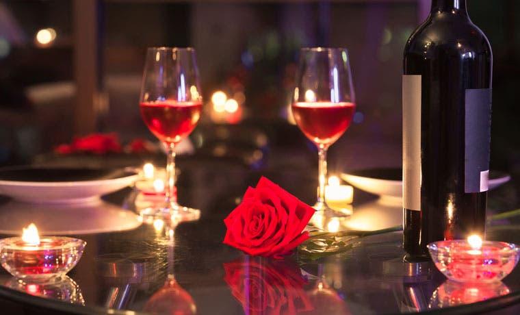 Disfrute una velada romántica de San Valentín