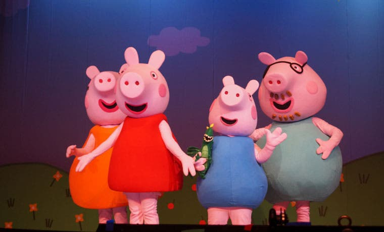 Ya están a la venta las entradas para el show de Peppa Pig