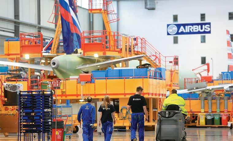 Airbus y Boeing cuentan con impulso de viajes y aviones