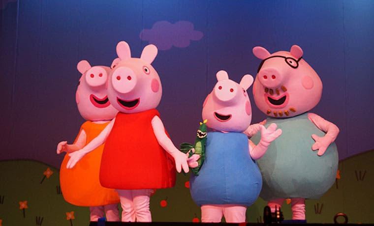 Peppa Pig ofrecerá cuatro funciones en el país