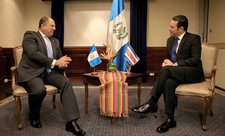 Inversión e integración centroamericana son prioridad del Presidente en su visita a Guatemala