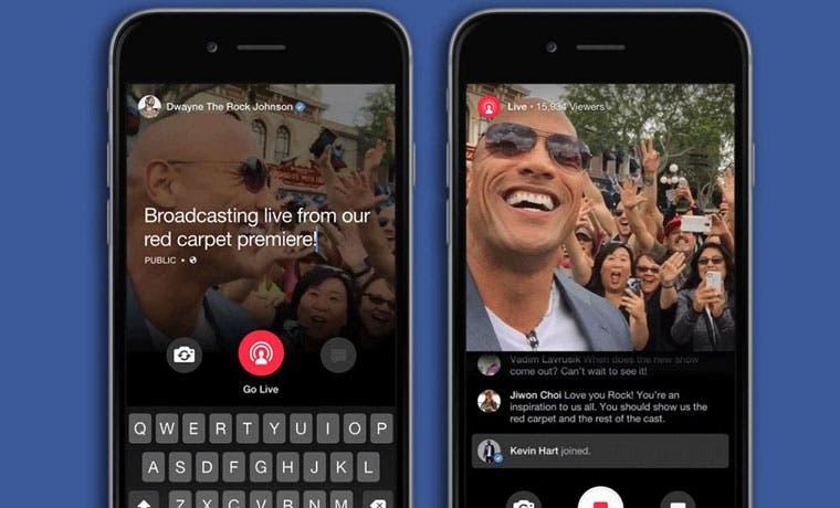 Facebook lanzó competencia de Periscope