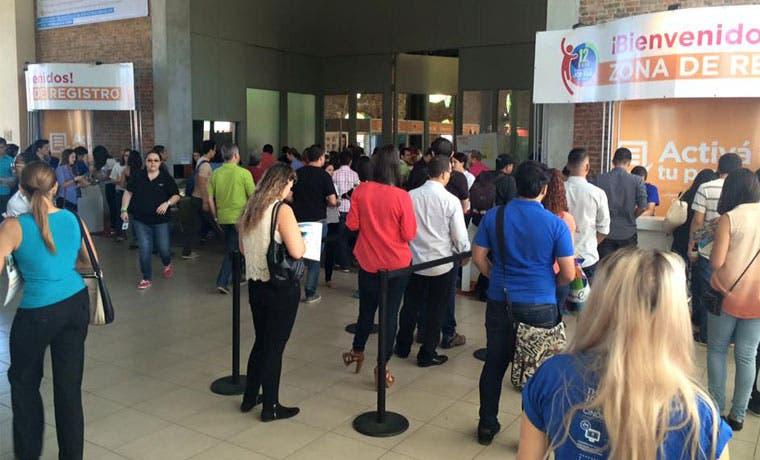 Feria de empleo Cinde convocó a 6.760 asistentes