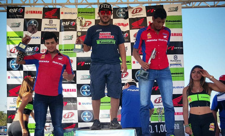 Piloto costarricense gana el Motocross de Guatemala
