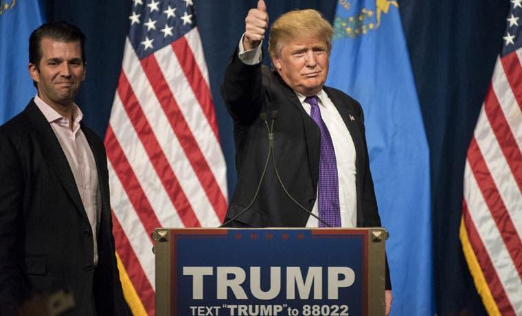 Trump marcha hacia la candidatura con su triunfo en Nevada