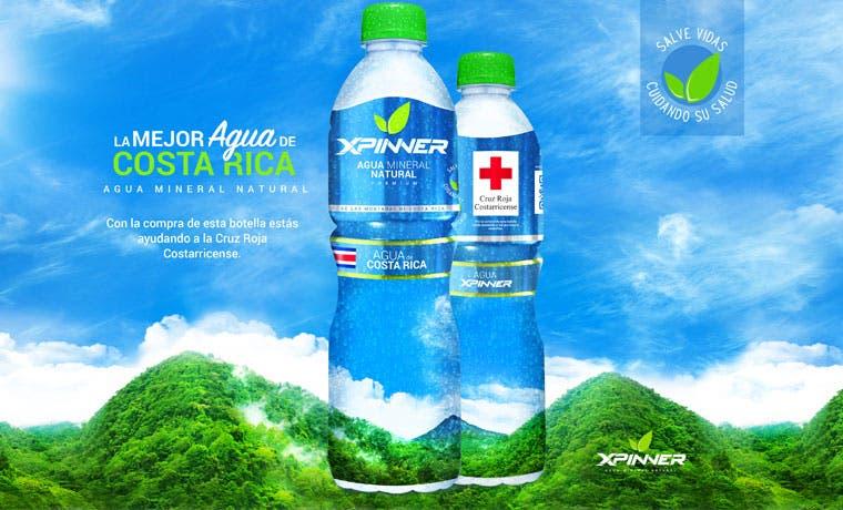 Cruz Roja recaudará fondos con nueva marca de agua embotellada