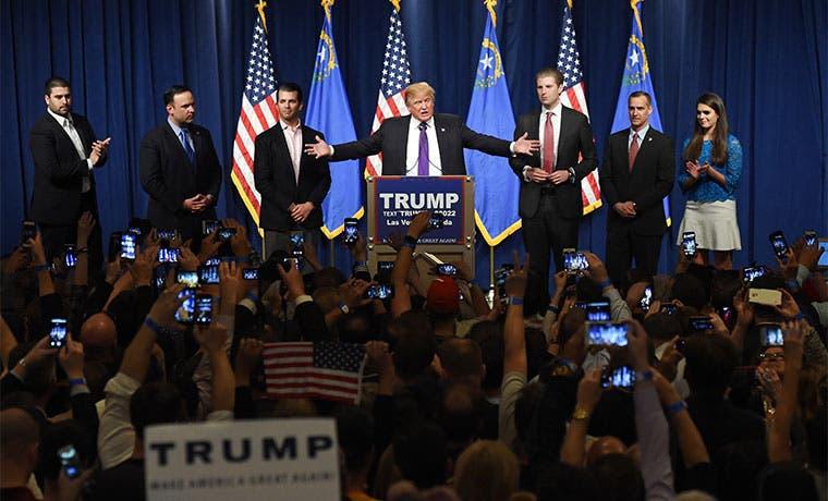 Donald Trump confirma en Nevada su dominio absoluto de las primarias