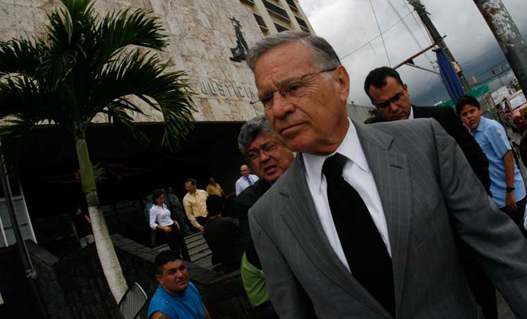 Acusación a expresidente Rodríguez cumplirá 12 años de trámites