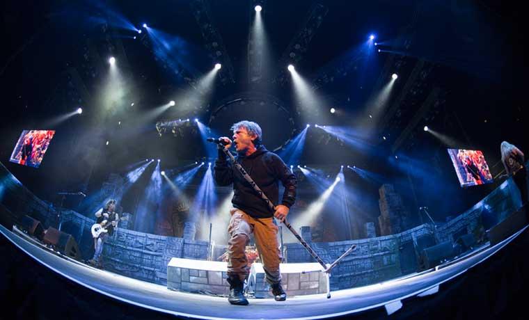 Iron Maiden ofrecerá un show completamente nuevo