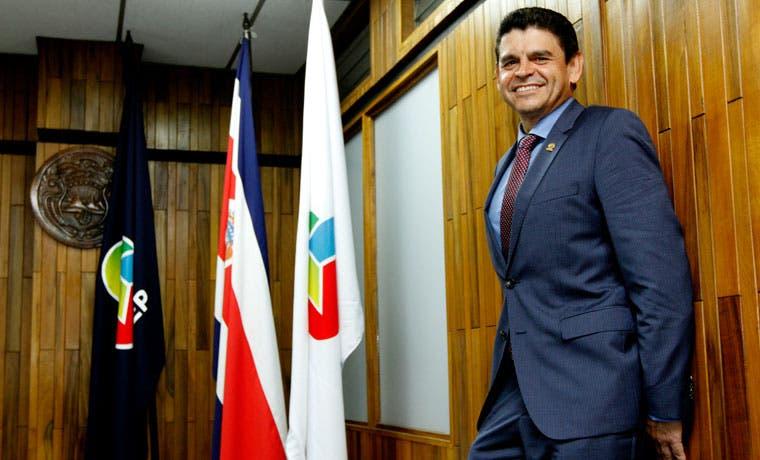 """Rónald Jiménez, presidente Uccaep: """"No voy a renunciar a nada"""""""