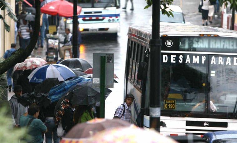Tarifas de bus serán calculadas con nueva metodología