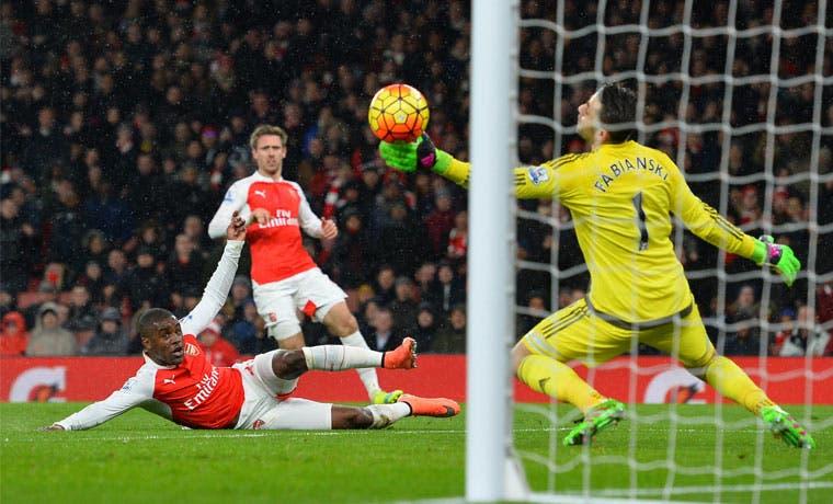 Campbell anotó, pero el Arsenal perdió